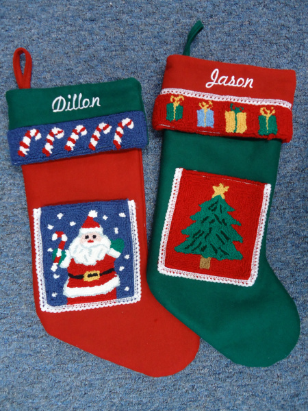 "<img source=""pic.gif"" alt=""Christmas Stalking Embroidery Monogramming in Goldsboro NC area.""</img>"