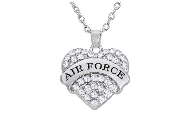 Air Force Pendant Necklace