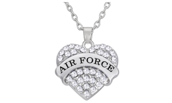 Air Force Pendant Necklace