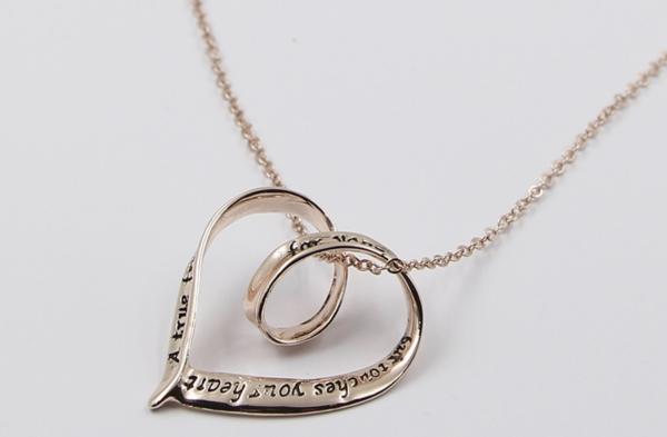 True Friend Pendant Necklace