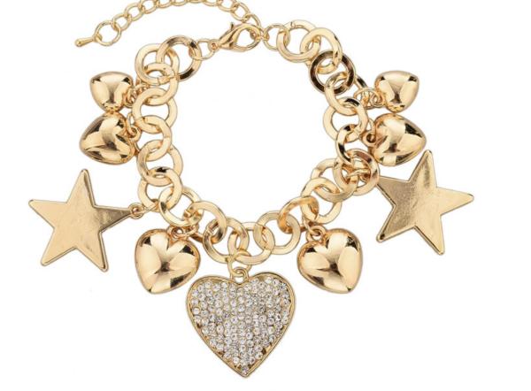 Hearts & Stars Charm Bracelets