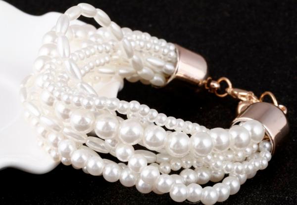 Bridal Pearl Bracelets