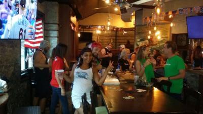 Waka Kickball at Fado Irish Pub