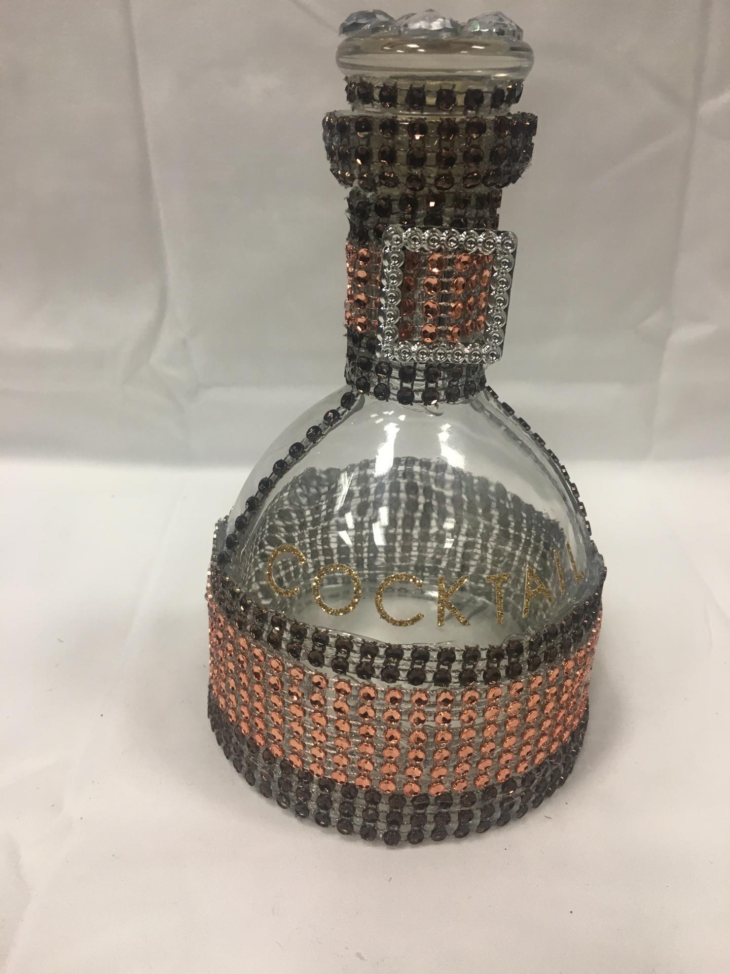Small Custom Liquor Bottle