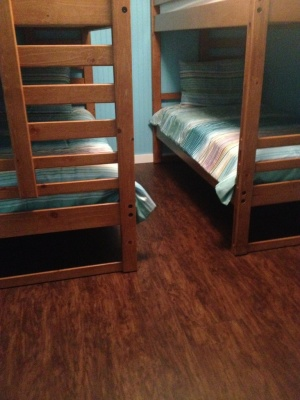 Bunk room 3 features twin over twin
