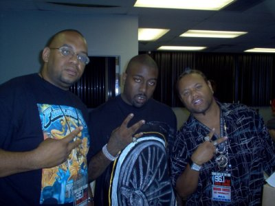 Trae Tha Truth with Cee & Mobb Boss
