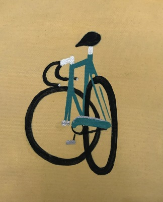 Blue Bycicle