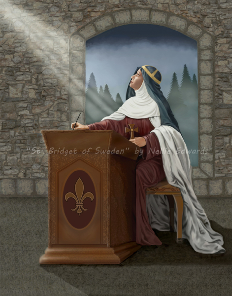ST. BRIDGET OF SWEDEN