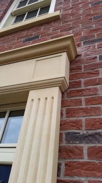 GRC Fluted Pilaster