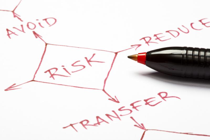 financial advisor analyzing risk
