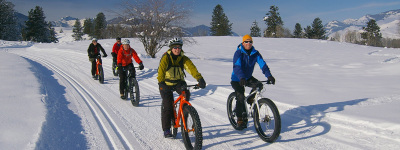 Fat Bike Trips & Clinics - Custom Trips Available
