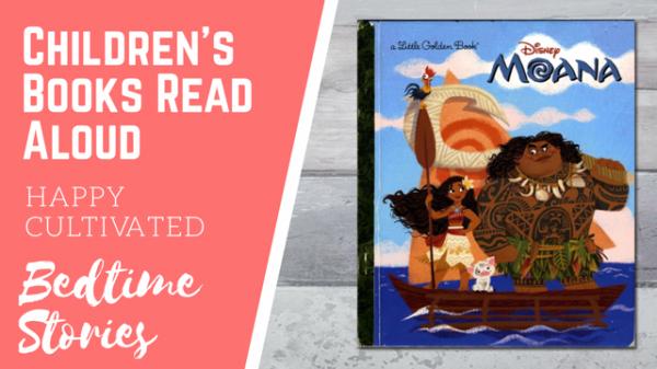 Disney Moana Book Read Aloud