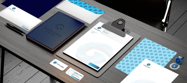 Brand identity, stationery, web design