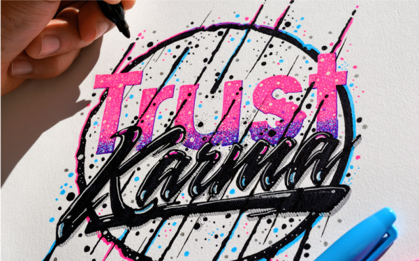 Typography Illustrations, hand lettering