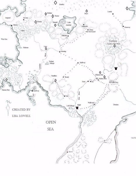 map of the land
