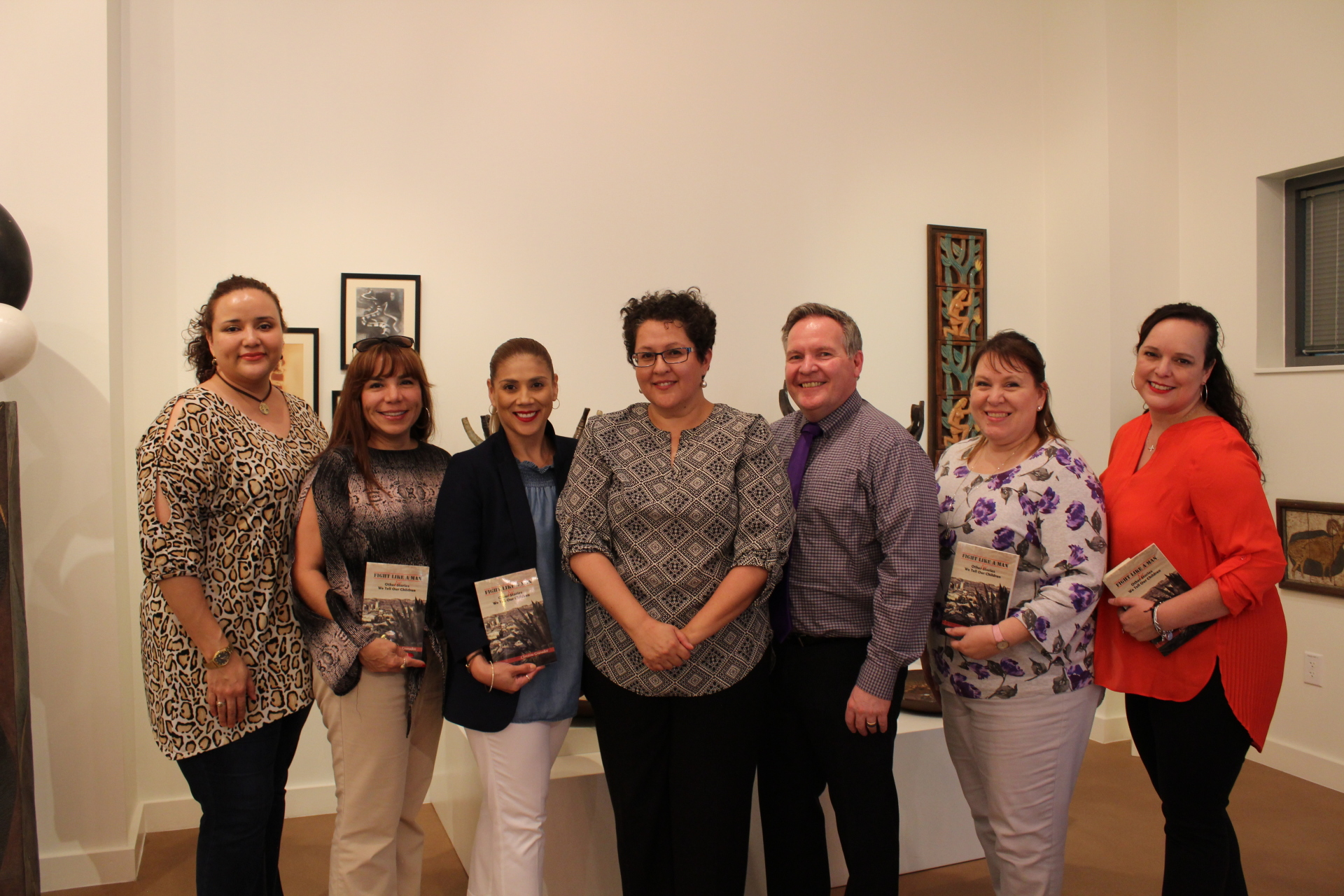 Killam Library reading at TAMIU