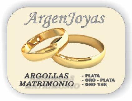 ARGOLLAS MATRIMONIO.