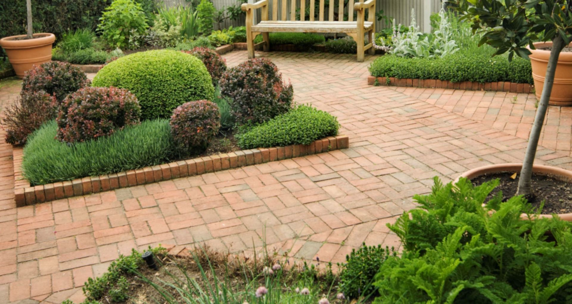 Our Total Solution will leave your home looking it's best, we'll even blow off your driveway before we leave.