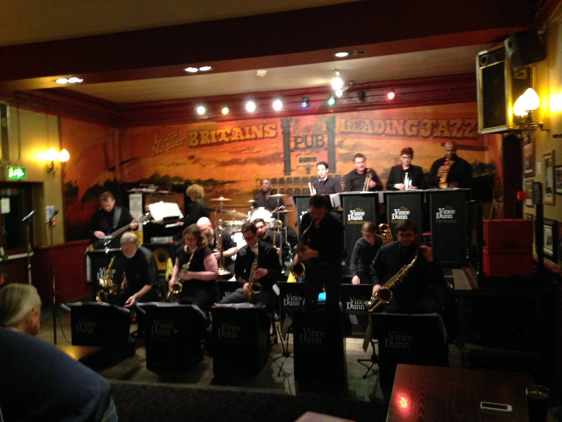 Vince Dunn Orchestra, big band in Thornton Heath
