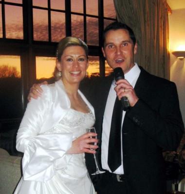 Andy Moore & bride