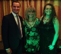 Sally Lindsay at the Check 'em Lads charity evening