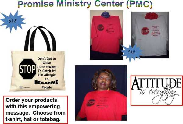 Allergic To Negative People Products