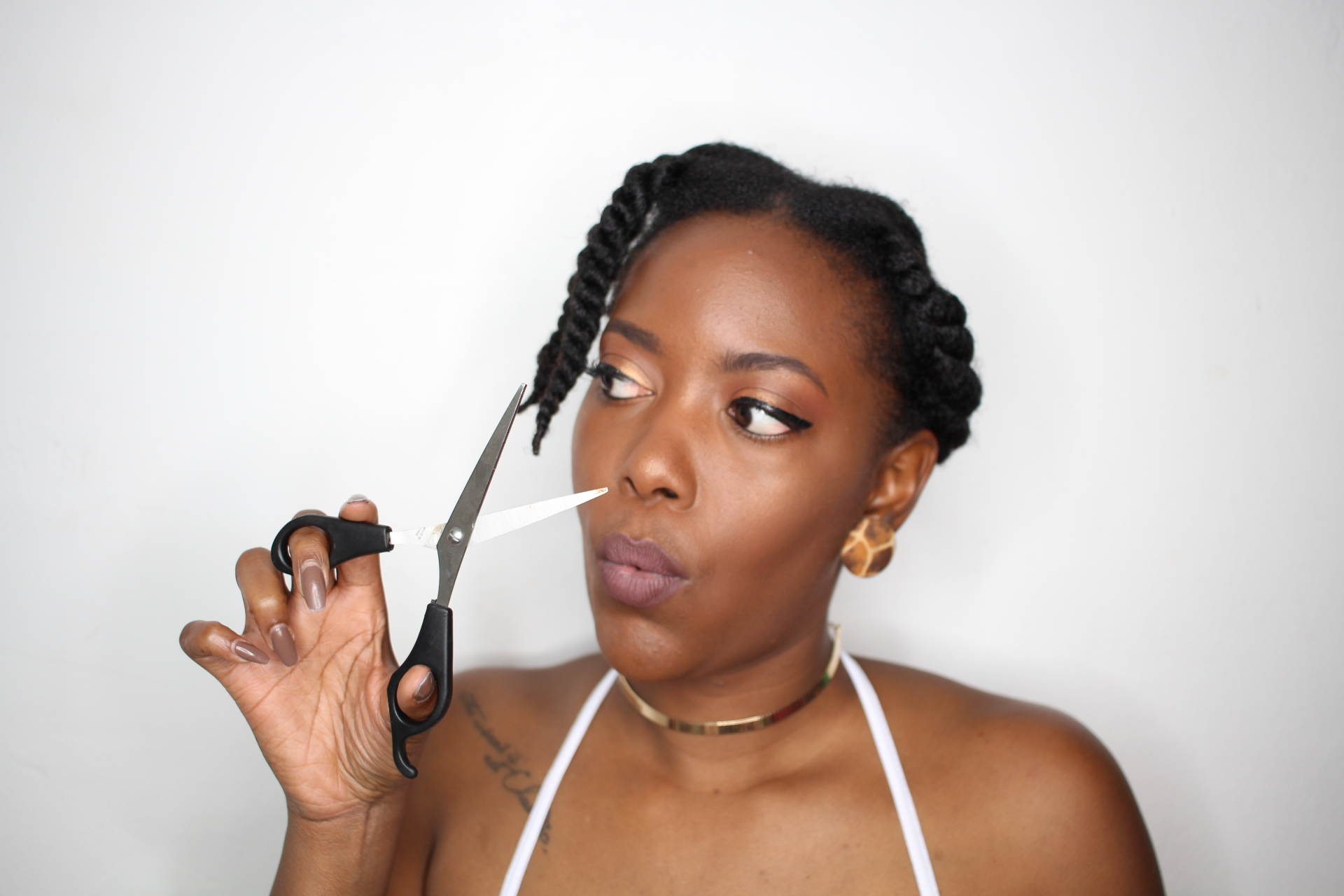 HOW TO TRIM TYPE 4 NATURAL HAIR