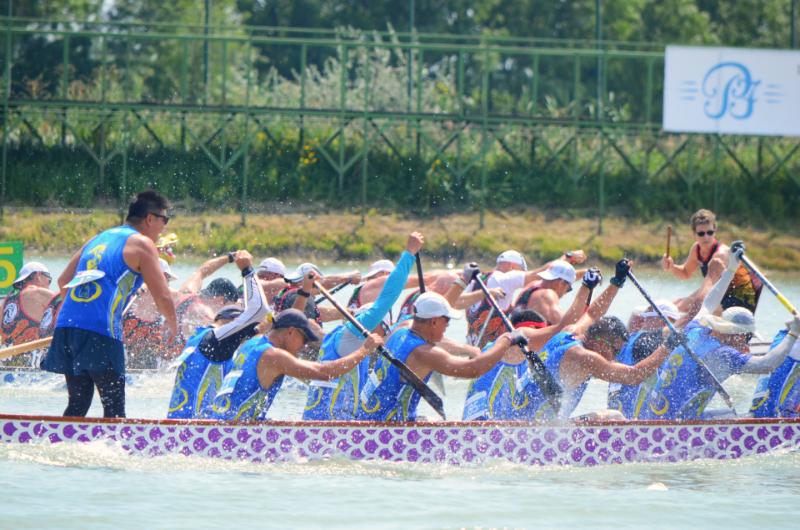 匈牙利之旅 (一):塞格德國際龍舟世界盃賽