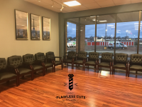 Flawless Cuts by Alexander Bristol waiting area