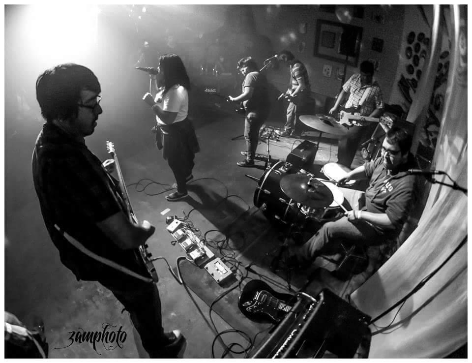live band shot