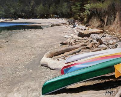Adrift on Aleck Bay