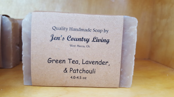 Green Tea Lavender & Patchouli