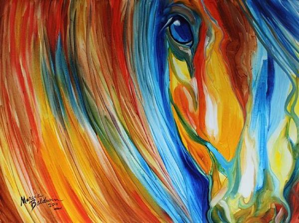 Hopeful Horse Eyes