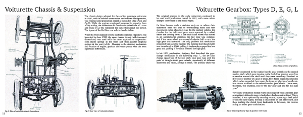 Voiturette Chassis & Suspension