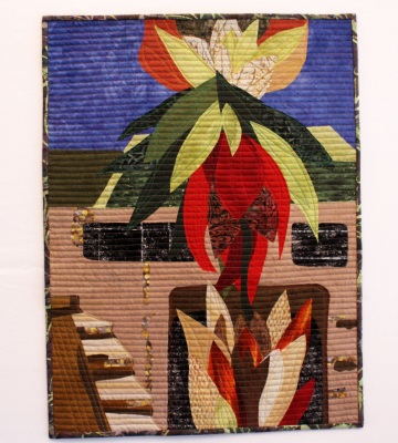 Homage to Gwendownlyn Knight and New Orleans quilt
