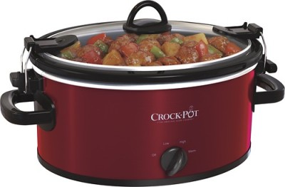 Deal of the Day!!!  Crock-Pot® - 4-Quart Oval Slow Cooker - Red