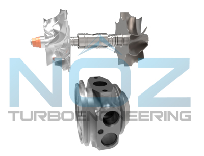 NOZ Turbo Engineering, dual ball bearing N54 turbo release