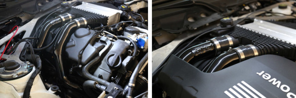 BMS,Burger Motorsports,S55,Aluminum Chargepipes