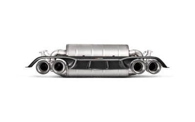 Akrapovic S55 Carbon Fibre Diffuser