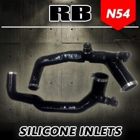 RB N54 High Flow Silicone Inlets