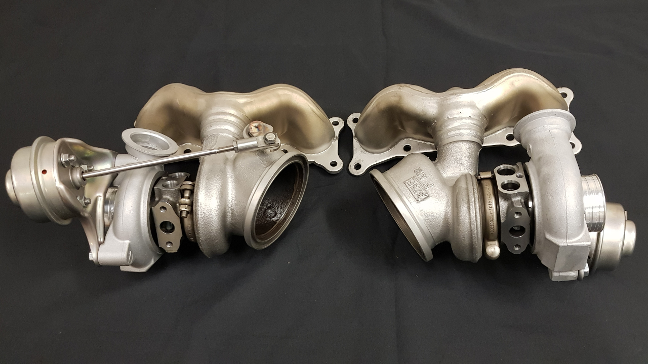 Pure Turbos Stage 2 HF for BMW N54