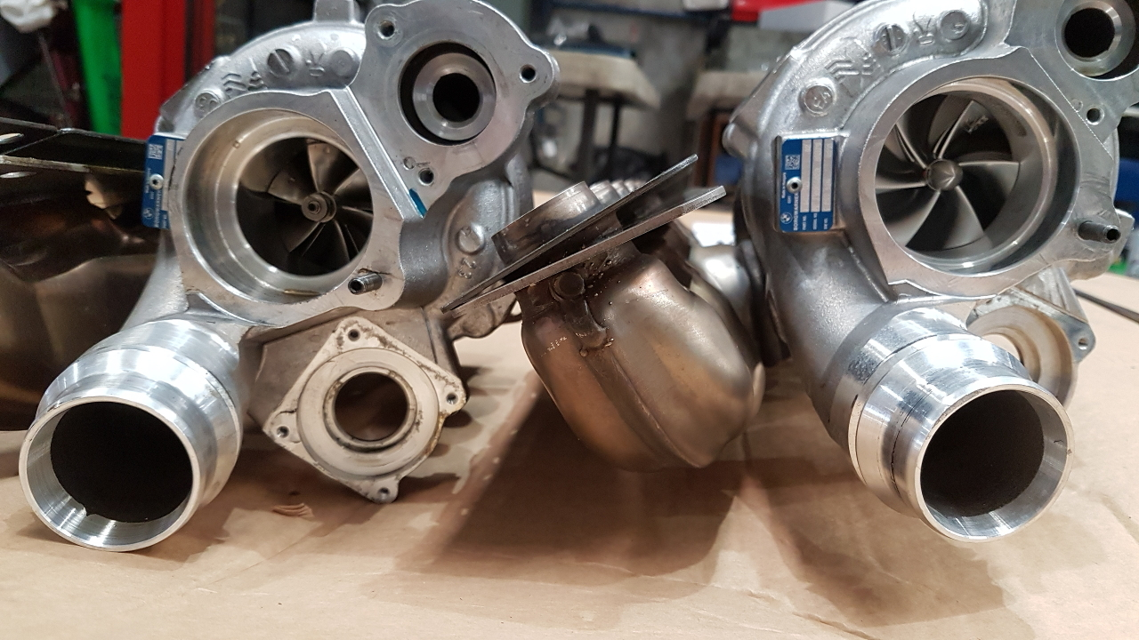 Pure Turbos Stage 2 for BMW N55