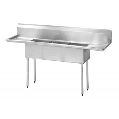 S/S Compartment Sinks