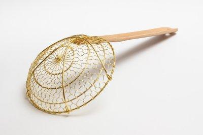 Bamboo-Handled Skimmer