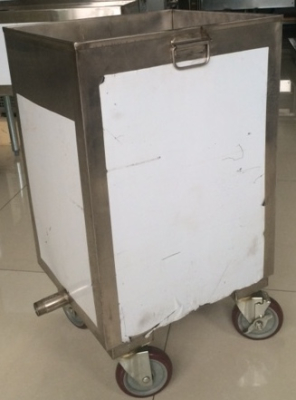 Hood Filter Soak Cart