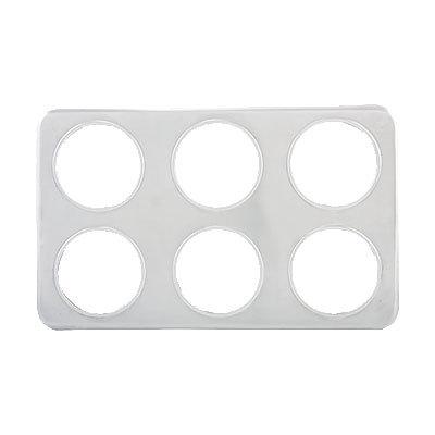 "Six 4-3/4"" Adaptor Plates"
