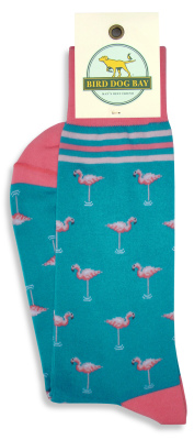 Flamingo Folly Socks