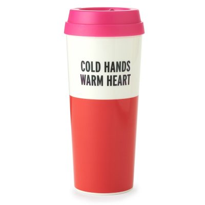Kate Spade Cold Hands Warm Heart Thermal Mug