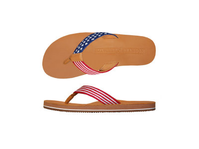 Needlepoint Flip Flops