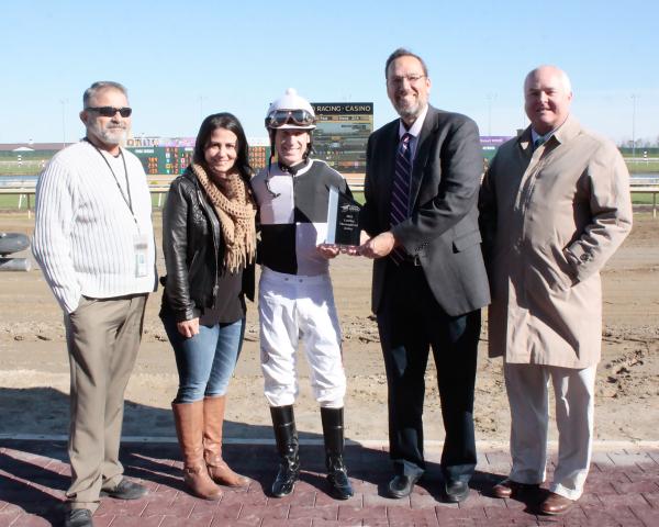 Rodney Prescott Earns Third Leading Jockey Title at Indiana Grand Racing & Casino